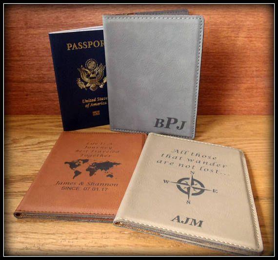 Custom Passport Cover Leather Passport Holder  Personalized