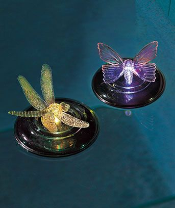 Floating Solar Pool Lights