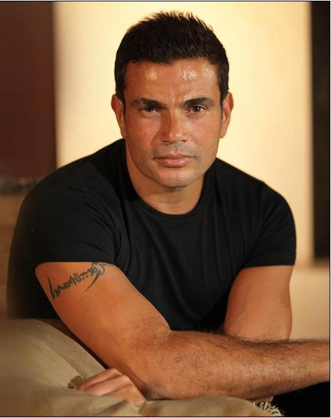 Amr Diab, singer, composer, songwriter.