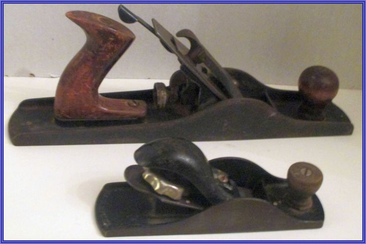 Two PARPLUS    Metal Products Corp. Wood Planes  (West Haven, Conn.)   USA, Vintage. Two Planes for One Price. One large, One Small. by Riverripples on Etsy