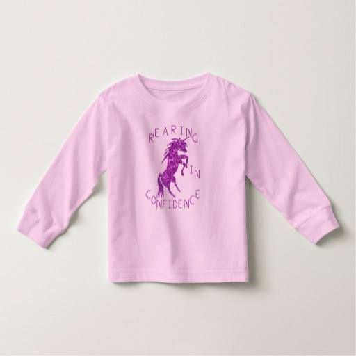 (REARING IN CONFIDENCE Design by Kat Worth Toddler T-shirt) #Girl #KatWorth #Purple #RearingInConfidence #Toddler #Unicorn is available on Funny T-shirts Clothing Store   http://ift.tt/2cwOuqh