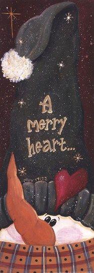 Merry Heart... Fine-Art Print by Jo Moulton at UrbanLoftArt.com