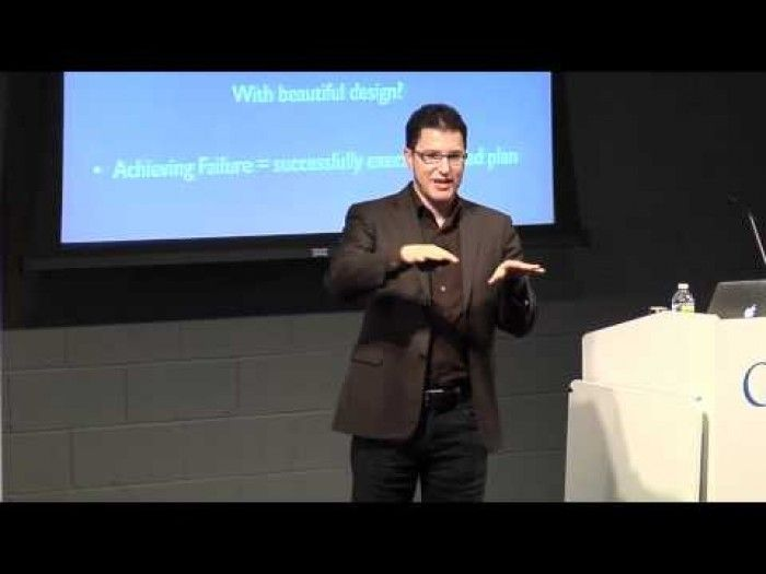 "Google hosts Eric Ries author of, ""The Lean Startup"""