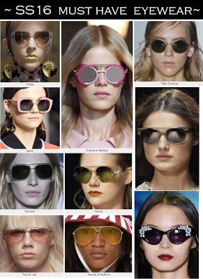 #SS16 Must have belts and #eyewear #fashiontrends
