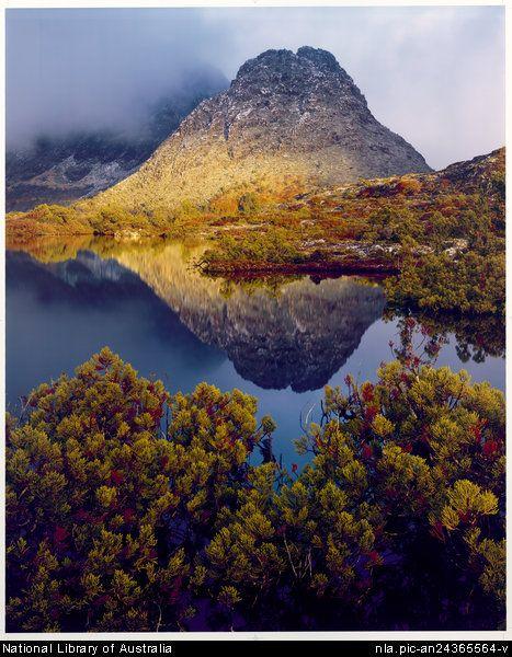 Cradle mountain, Tasmania by Peter Dombrovskis