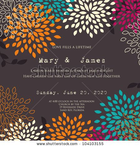 22 best dp gala invite ideas images on pinterest invite invites stock vector wedding card or invitation with abstract floral background greeting card in grunge stopboris Images