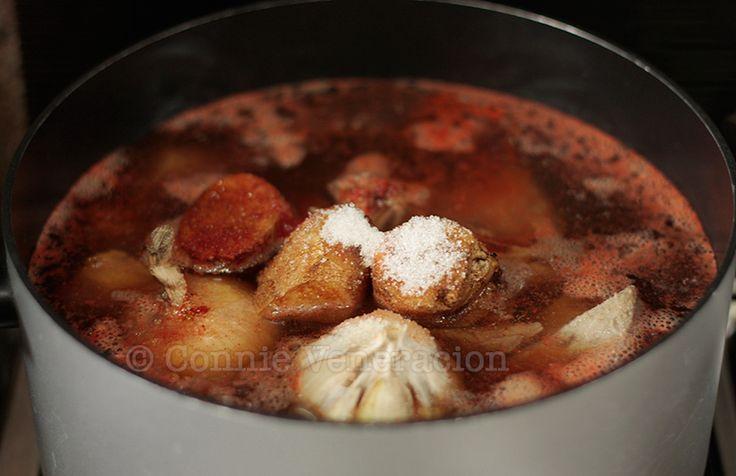 Korean beef stew a la House of Kimchi