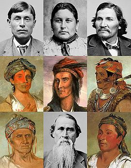 Shawnee portraits    Total population:  14,000 (7,584 enrolled)  Regions with significant populations:  Oklahoma  Languages:  Shawnee, English  Religion:  traditional beliefs and Christianity  Related ethnic groups:  Sac and Fox (Mesquakie)