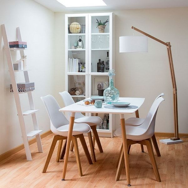 17 mejores ideas sobre comedor peque o en pinterest for Decoracion de living comedor espacios pequenos