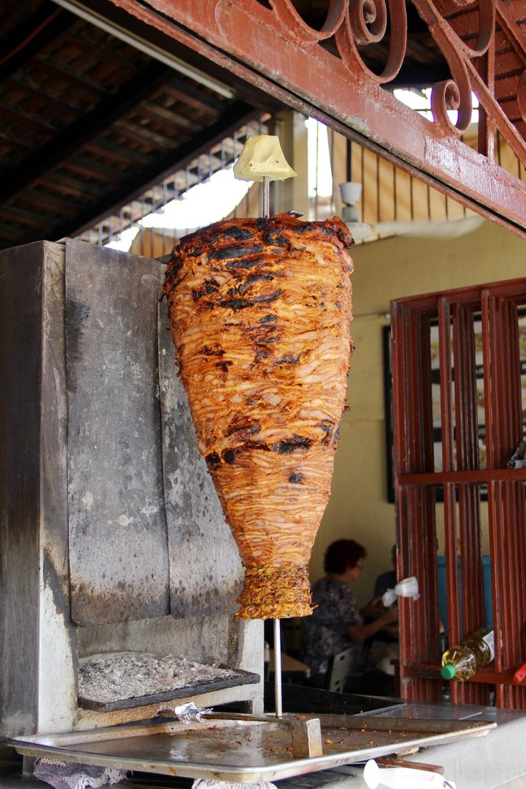 The al pastor at Pepe's Tacos.  Carved straight from the spit to your tortilla | Puerto Vallarta.  This place is a bit far from Zona Romantica (north of where the Malecon ends), but if we happen to be up that way for other reasons it might make a good stop.