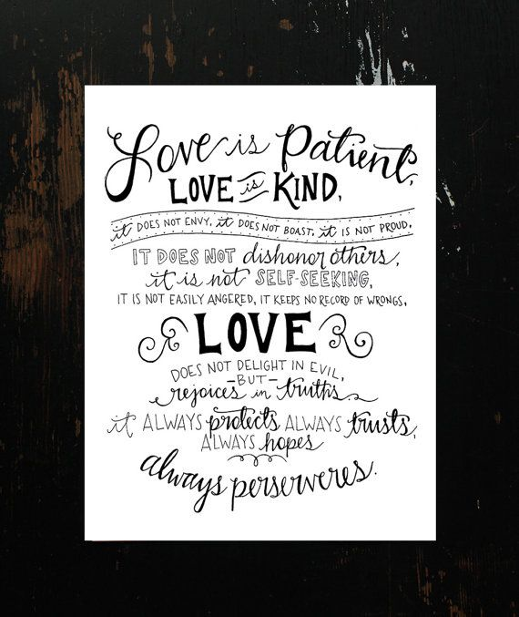 Best 25+ Love Is Patient Ideas On Pinterest