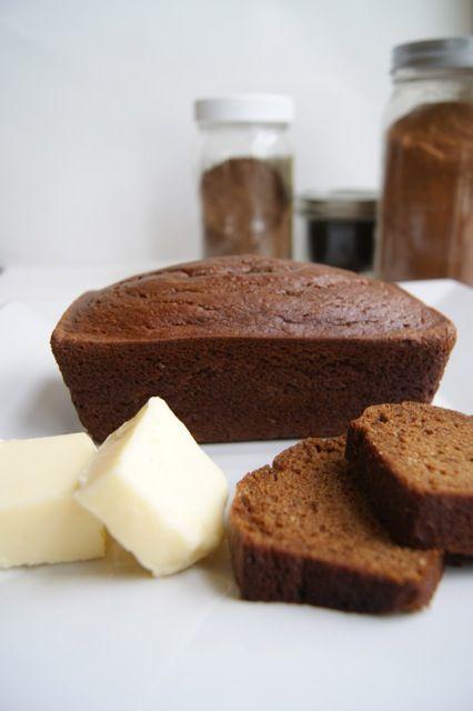 Paleo Pumpkin Spice Bread #LowCarb #GF Perfect for fall!