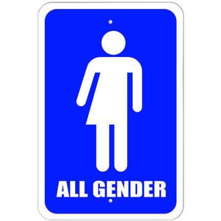 17 best ideas about transgender bathroom sign on pinterest