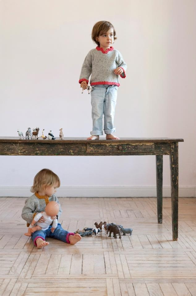 Children´s knitwear for everyday use. www.babaa.es