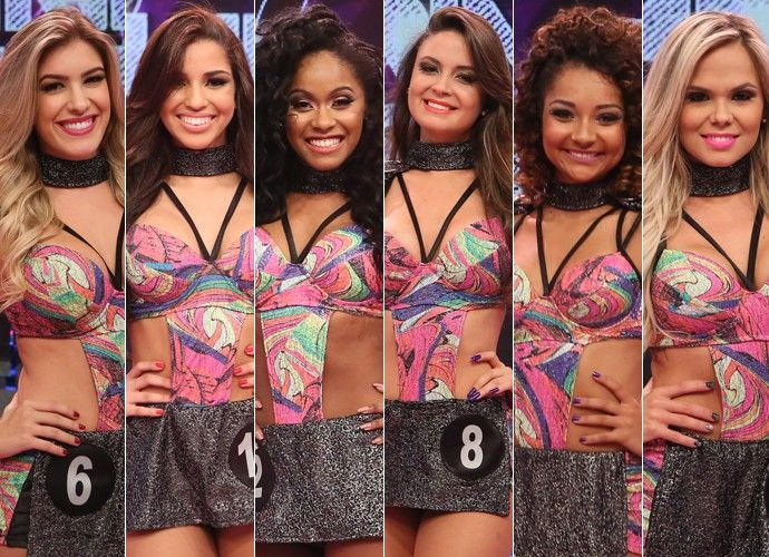 Canadauence TV: As finalistas do concurso Bailarina do Faustão