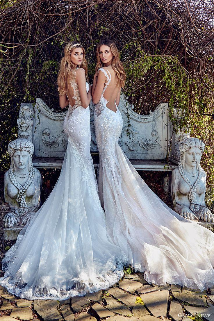 galia lahav bridal spring 2017 sheath mermaid trumpet sweetheart wedding dresses (samantha avena) bv low back train