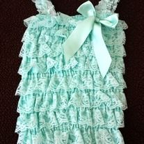 This lace romper is so adorable. Perfect for photo shoots, birthdays, holidays and much more!!! The material is super stretchy and soft for comfort! It comes with straps and a silk bow attached. A matching headband is come with this romper as a set.  *Size: Newborn- 9mth, $14.99, 9-18mth, $14.99...
