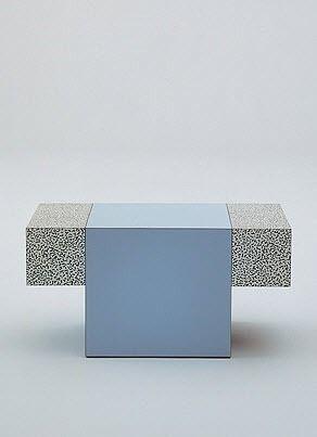 table basse contemporaine VERNALL by Ettore Sottsass Jr. ANTHOLOGIE QUARTETT