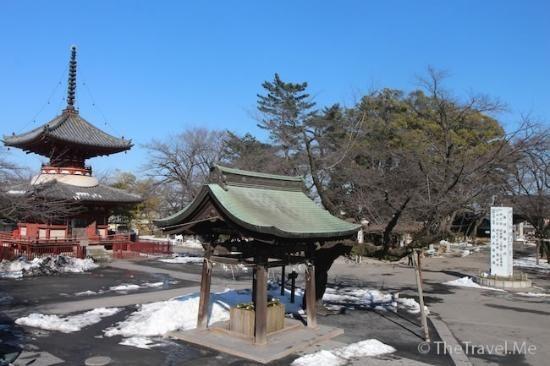 kawagoe saitama prefecture   Bilde av Kitain : 喜多院雪景