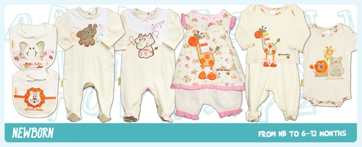 Newborn range - Fair Trade and Hooliescious :-)