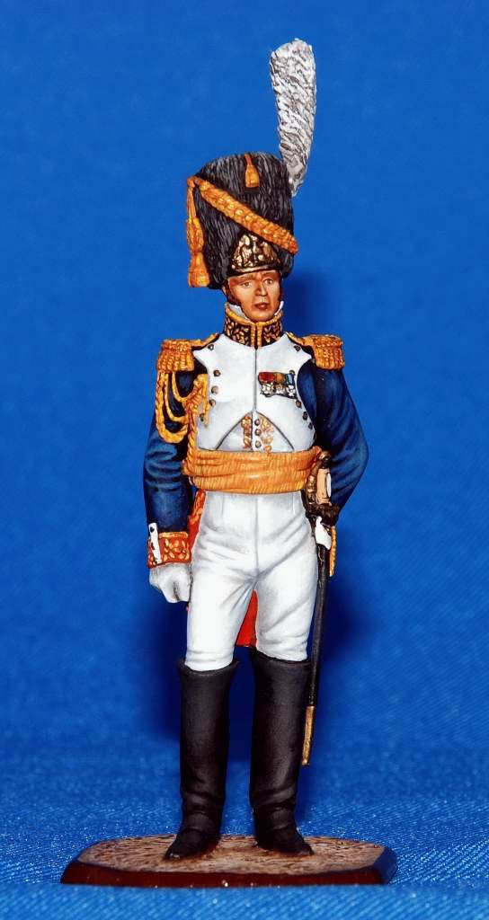 Французский генерал Дорсен - 1812  ММС