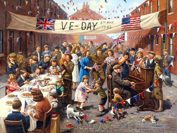Victory in Europe Day is something everyone must #remember, this #day saved the planet from a dangerous threat of Nazism.