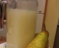 Ricetta Succo di frutta alla pera pastorizzato bimby