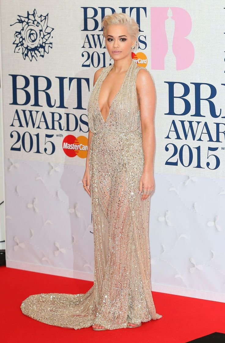 Rita Ora at Brit Awards 2015 in London