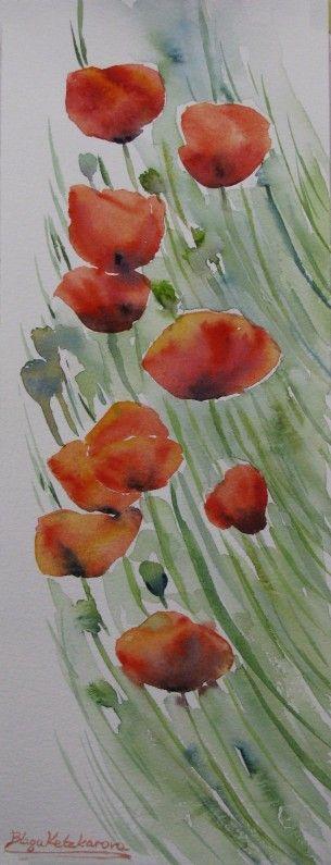 Blaga's watercolors