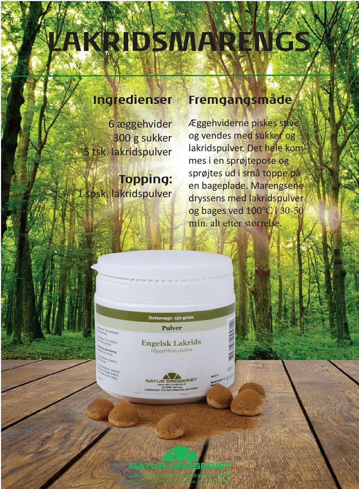 Lakridsmarengs | Natur-Drogeriet A/S