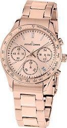 Jacques Lemans Rome Sports 1-1587ZK – Women's Watch, Watch Band Stainless Steel Rose Gold Tone