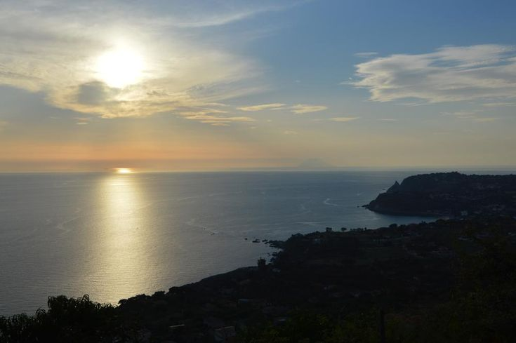 Sunset somewhere in Italy by Karine Bäckman