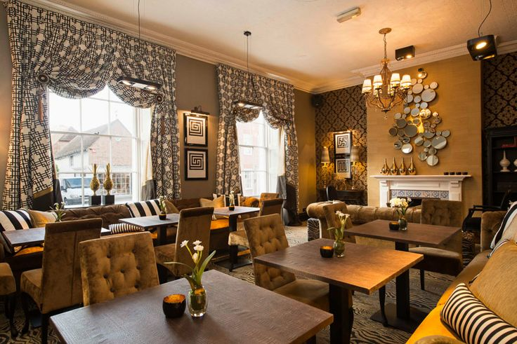The lounge area accesorised by The Silkroad to provide a homely, welcoming feel.