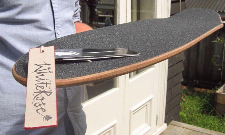 Hand engineered longboards - Wellington, NZ  whiteroselongboards.com