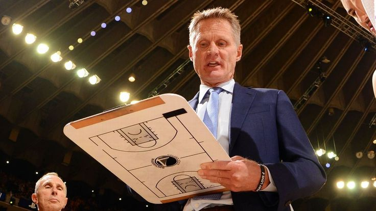 Kerr to watch Warriors game from locker room