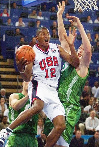 Image result for ray allen 2000 olympics block