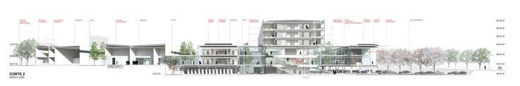 Galería - Segundo Lugar en concurso sanatorio y centro nacional de rehabilitación / Montevideo - 14