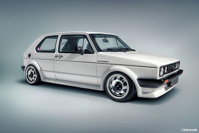Classic #Volkswagen Golf MK 1 Oettinger 16s - -LindsayVolkswagen.com #vw