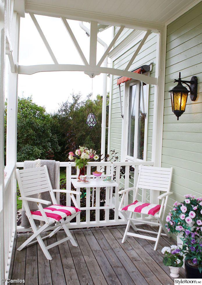caféset,rusta,veranda,entre,altan