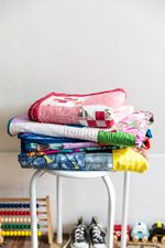 Colorful Toddler quilts