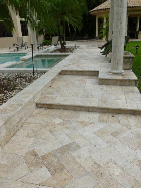 patios pools driveways inc decorative concrete pavers boca rh pinterest com