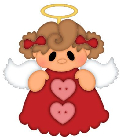 CUTE CHRISTMAS ANGEL CLIP ART