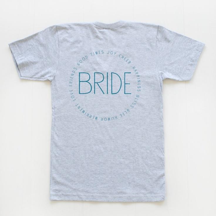 custom bridal party v necks | wedding chicks