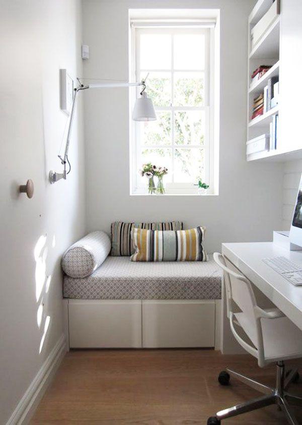Las 25 mejores ideas sobre dormitorios peque os en - Ideas para decorar el dormitorio ...