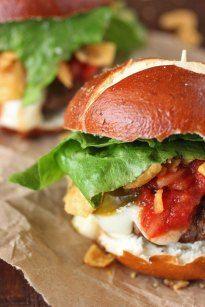 """Walking Taco"" Burger Sliders | Brown Sugar"