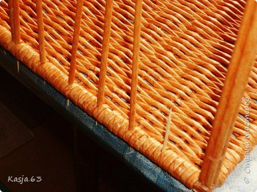 Плетение Обнова для дочи Трубочки бумажные фото 9