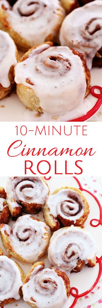 10-Minute Cinnamon Rolls #cinnamonrolls #quickandeasy #easycinnamonroll #puffpastry #easydesserts #brunch
