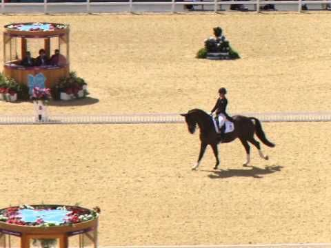 Charlotte Dujardin & Valegro {2012 London Olympics, Great Britain, Grand Prix 83.663%}