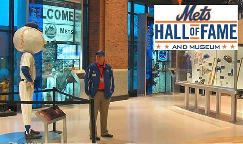 """If you are coming to the game today or any game this season be sure to visit the Mets Hall of Fame and Museum located by the Jackie Robinson Rotunda. See Amazin' artifacts from some your favorite Mets in team history, the Mets HOF plagues and new for this season """"Kiner's Korner,"""" a tribute to the late Ralph Kiner."""