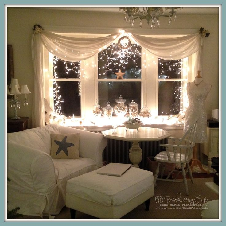 Home Design Ideas Bay Window: Coastal Christmas; Winter Wonderland. Presently, My Happy
